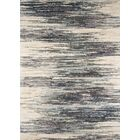 Odyssey Abstract Gray/Ivory Area Rug Rug Size: 5'3