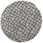 Aliza Hand-Tufted Silver/Gray Area Rug Rug Size: Round 6'