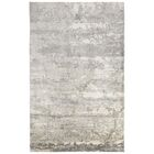 Ali Industrial Gray/Ivory Area Rug Rug Size: Rectangle 4'10