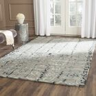 Kinder Hand-Tufted Gray/Charcoal Area Rug Rug Size: Rectangle 6' x 9'