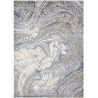Riggle Muscle Shell Hand-Knotted Pearl Area Rug Rug Size: 9'6