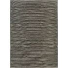 Napa Black/Tan Indoor/Outdoor Area Rug Rug Size: Rectangle 5'3