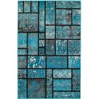 Russet Teal Area Rug Rug Size: Rectangle 7'4
