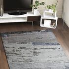 Kaylee Hand-Knotted Blue Area Rug Rug Size: Rectangle 9' x 12'