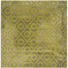 Manorhaven Light Gray/Green Area Rug Rug Size: Square 6'7