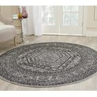 Ebenezer Silver/Black Area Rug Rug Size: Rectangle 11' x 15'