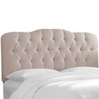 Macdougal Tufted Upholstered Panel Headboard Size: California King, Upholstery: Pale Gray