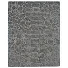 Ayles Hand-Tufted Pewter Area Rug Rug Size: Rectangle 8' x 11'