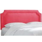 Alejandre Upholstered Panel Headboard Size: Queen, Upholstery: Mystere Flamingo