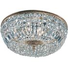 Hailsham Light Semi-Flush Mount Crystal Type: Swarovski Spectra, Finish: Olde World Bronze, Size: 8.5