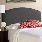 Lesa Upholstered Panel Headboard Size: Queen