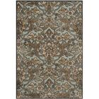 Berloz Soft Anthracite / Anthracite Floral Plant Area Rug Rug Size: Rectangle 3'3