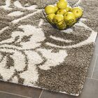 Flanery Dark Beige Area Rug Rug Size: Rectangle 8'6