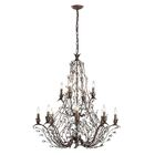 Creed 12-Light Candle Style Chandelier