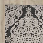 Mira Black Area Rug Rug Size: Rectangle 4' x 6'