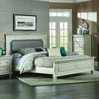 Regency Upholstered Panel Bed Size: Queen