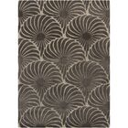 Boothe Gray Floral Area Rug Rug Size: 5' x 7'