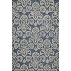 Shinault Hand-Hooked Navy Area Rug Rug Size: Rectangle 8' x 10'