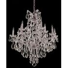 Griffiths 13-Light Candle Style Chandelier Crystal Type/Finish: Majestic Wood Polished/Chrome