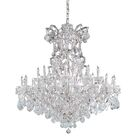 Milan Candle Style Chandelier Finish: Gold, Crystal Type: Swarovski Strass