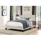 Chesterwood Upholstered Platform Bed Size: Full, Color: Linen