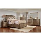 Alcalde Upholstered Storage Sleigh Bed Configurable Bedroom Set