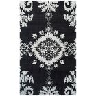Bottesford Hand-Knotted Charcoal Area Rug Rug Size: Rectangle 5' x 8'