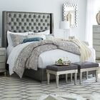 Guillaume Upholstered Panel Bed