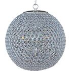 Farley Hall 5-Light Chandelier Finish: Plated Silver