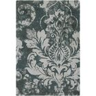 Terry Hand-Tufted Teal/Dark Green Area Rug Rug Size: Runner 2'6