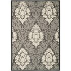 Jarrow Black/Sand Outdoor Rug II Rug Size: Rectangle 5'3