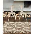 Flemming Cream/Brown Indoor/Outdoor Area Rug Rug Size: 7' x 10'