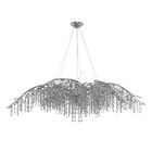 Destrie 24-Light Chandelier Finish: Mystic Silver