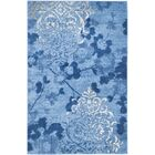 Frizzell Light Blue&Dark Blue Area Rug Rug Size: Rectangle 9' x 12'