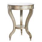 Ettore Mirrored Accent Table