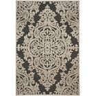 Mitchum Stone / Anthracite Area Rug Rug Size: Rectangle 5'3