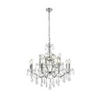 Newell 12-Light Candle Style Chandelier Shade Color: Clear, Finish: Rustic Intent