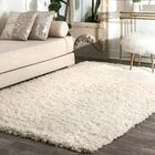 Koehn Hand-Tufted Ivory Area Rug Rug Size: Rectangle 8' x 10'