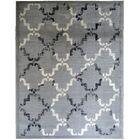 Gallo Moroccan Tile Gray Area Rug Rug Size: Rectangle 5' x 7'