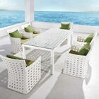 Linsey 7 Piece Dining Set with Cushions