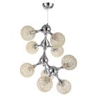 Hollymead 9-Light Novelty Chandelier Shade Color: Cream