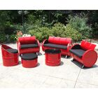 Loft 6 Piece Sunbrella Sofa Set with Cushions