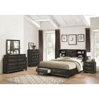 Loiret Wood 5 Piece Bedroom Set Size: King