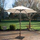 9' Market Umbrella Fabric: Beige