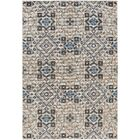 Braselton Teal/Beige/Charcoal Area Rug Rug Size: Rectangle 6'8