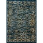 Schneider Navy/Gold Area Rug Rug Size: Rectangle 8' x 10'