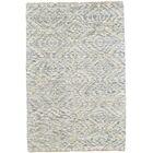 Leesburg Hand Woven Wool Mist Area Rug Rug Size: Rectangle 4' x 6'