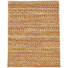 Lavonia Hand-Knotted Apricot Area Rug Rug Size: Rectangle 5'6