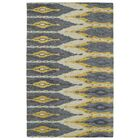 Hocca Hand-Tufted Graphite Area Rug Rug Size: Rectangle 5' x 8'