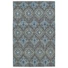 Masmoudi Hand-Knotted Charcoal Area Rug Rug Size: Rectangle 4' x 6'